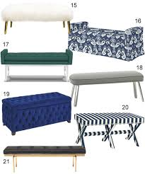 Pillow Top Bench Get The Look 56 Upholstered Benches Stylecarrot