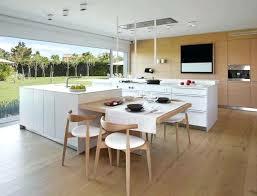 cuisine avec ilot central et table ilot de cuisine ikea cuisine