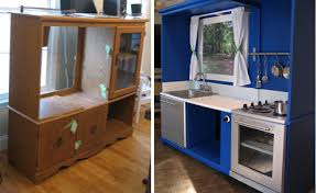 play kitchen from furniture homegain archive 8 inventive ways to repurpose