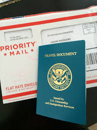 Us travel document for lpr adjustment of status from work