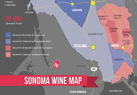 Napa Wine Map Sonoma Wine Map Poster Wine Folly