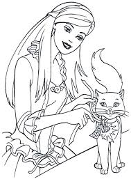 barbie cartoon coloring pages print coloring barbie kids coloring