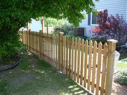 picket fences wood picket fences in st paul lakeville woodbury twin cities