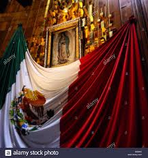 a mexican flag decorates the original image during the annual
