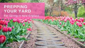 spring landscaping prepping your yard for spring in new england t b landscaping
