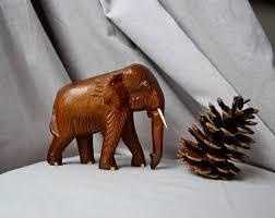 elephant figurine etsy