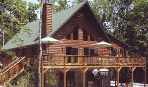 log homes chalet style house design plans