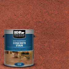 Home Depot Wood Stain Colors by Behr Premium 1 Gal Stc 33 English Brick Semi Transparent