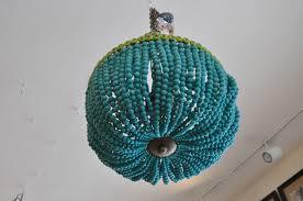 turquoise beaded chandelier beaded empire style chandelier mecox gardens