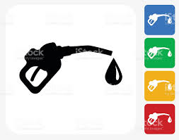 gas pump icon flat graphic design stock vector art 488155104 istock