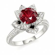 ruby and engagement rings ruby engagement rings 2017 wedding ideas magazine weddings