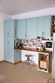 garage cabinet makeover with chalk paint natalme pinterest
