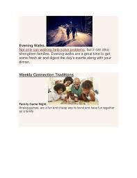 family tradition ideas pdf