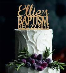 baptism cake toppers baptism cake topper with name personalized god bless cake topper