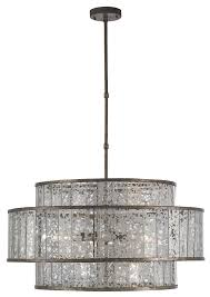 drum light chandelier fantine chandelier currey and company