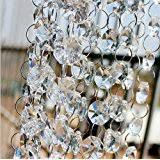 Teardrop Crystals Chandelier Parts Amazon Com Fushing 20pcs Chandelier Crystals Clear Teardrop