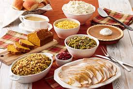 thanksgiving feast at bob divascuisine