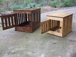How To Build Wood End Tables by How To Build A Dog Kennel End Table Diy Projects For Everyone