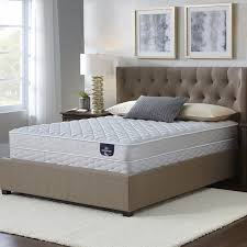 serta chrome firm full size mattress set free shipping today