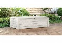 patio deck boxes keter brightwood outdoor plastic deck box all