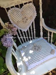 cuscini per sedia a dondolo cuscini shabby maison des souvenirs