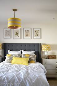 Yellow And Grey Room Home Decor Yellow And Gray Bedroom Grey Bedding Decorating Ideas