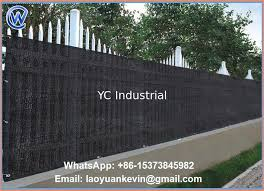 hdpe balcony fence net outdoor dyning sun wind shield shade patio