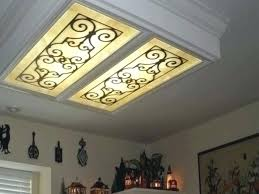 Fluorescent Ceiling Light Covers Kitchen Fluorescent Light Covers For Fluorescent Light Covers