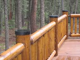 log post end caps by luxury metals