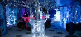 chill out at the ice bar at nottingham winter wonderland