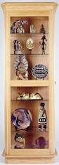Free Shelf Woodworking Plans by Curio Cabinet Free Woodworking Plans For Curiobinet Corner And