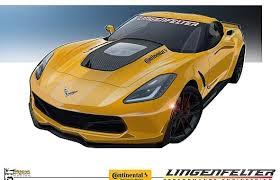 performance corvettes lingenfelter performance debuts yellow c7