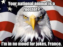 Rooster Jokes Meme - your national animal is a rooster i m in no mood for jokes france