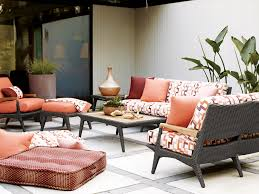 cooper outdoor teak and wicker living room sofas and sectionals