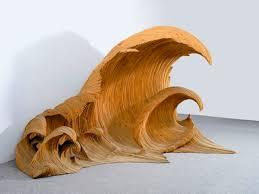 wave glass wood sculptures adafruit industries makers