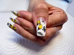 flower with butterfly nails nail gallery