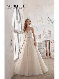 classic wedding dresses mori 5510 martina a line classic wedding dress ivory