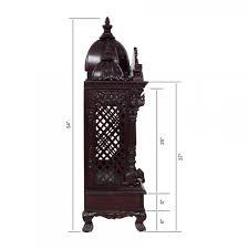 indian spiritual wood pooja mandir for home in usa 280814 3054