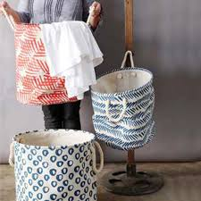 Canvas Laundry Hamper by Canvas Laundry Baskets Sweet Home Goods From Spool 72 Spool No 72