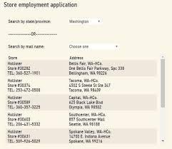 black friday hollister 2017 hollister job application and employent resources job