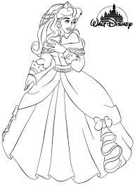 aurora sleeping beauty coloring pages eliolera
