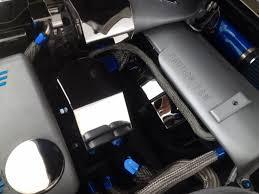 corvette stainless creations corvette c5 chrome radiator fan shroud polished stainless
