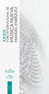 p gina principal cch vallejo unam xxxiv foro internacional de música nueva manuel enríquez 2012 by