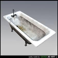 Bathtub Models Games 3d Model