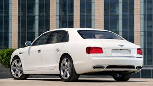 bentley white 2015 2014 bentley flying spur glacier white rear hd wallpaper 52