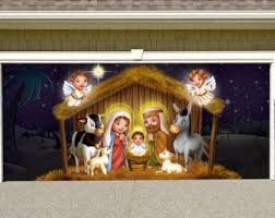 nativity outdoor outdoor nativity etsy