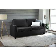Queen Leather Sleeper Sofa Casey Queen Size Black Faux Leather Sleeper Sofa 2152007 The
