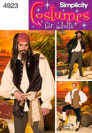 Joann Fabrics Halloween Costume Patterns Simplicity 4923 Jack Sparrow Costume For Christian If I Decide