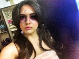 Evil Doll Halloween Makeup by Evil Doll Pretty And Simple Halloween Makeup Beautybymarianela