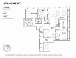 740 park avenue floor plans 432 park ave floor plans homes floor plans